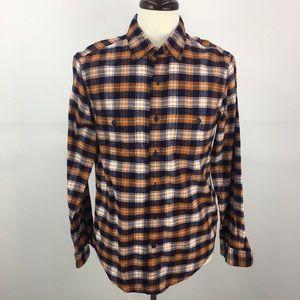NWT J. Crew Cotton Plaid Flannel